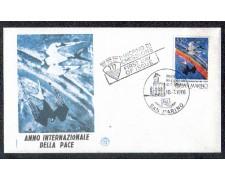 1986 - LOTTO/8067Z - SAN MARINO - ANNO DELLA PACE - FDC
