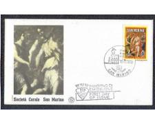 1986 - LOTTO/8070Z - SAN MARINO - SOCIETA' CORALE - FDC