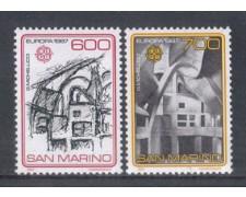 1987 - LOTTO/8073 - SAN MARINO - EUROPA 2v. - NUOVI