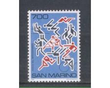 1987 - LOTTO/8078 - SAN MARINO - GIOCHI DEL MEDITERRANEO - NUOVO