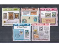 1988 - LOTTO/8084 - SAN MARINO - INVITO ALLA FILATELIA