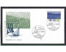 1988 - LOTTO/8086Z - SAN MARINO - GIORNATA FILATELICA - FDC