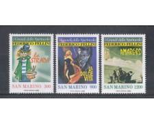 1988 - LOTTO/8087 - SAN MARINO - GRANDI DELLO SPETTACOLO