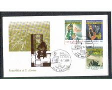 1988 - LOTTO/8087Z - SAN MARINO - GRANDI DELLO SPETTACOLO - FDC