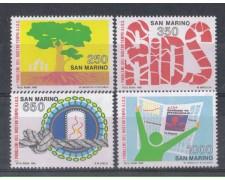 1988 - LOTTO/8089 - SAN MARINO - CONVEGNO A.I.D.S