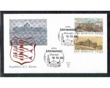 1988 - LOTTO/8090Z - SAN MARINO - FILACEPT - FDC