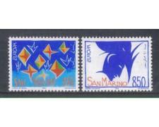 1993 - LOTTO/8131 - SAN MARINO - EUROPA