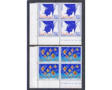 1993 - LOTTO/8131Q - SAN MARINO - EUROPA - QUARTINE
