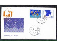 1993 - LOTTO/8131Z - SAN MARINO - EUROPA - FDC