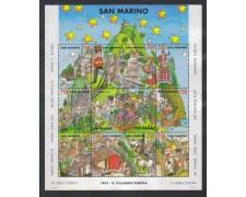 1993 - LOTTO/8135 - SAN MARINO - VILLAGGIO EUROPA - FOGLIETTO