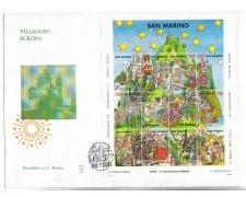 1993 - LOTTO/8135Z - SAN MARINO - VILLAGGIO EUROPA - FDC
