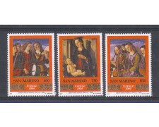 1994 - LOTTO/8148 - SAN MARINO - NATALE 3v. - NUOVI