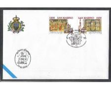 1995 - LOTTO/8154Z - SAN MARINO - BASILICA DI SANTA CROCE - FDC