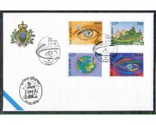 1995 - LOTTO/8155Z - SAN MARINO - TURISMO - FDC