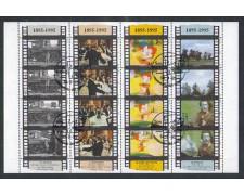 1995 - LOTTO/8157U - SAN MARINO - CINEMA FOGLIETTO USATO
