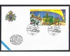 1995 - LOTTO/8160Z - SAN MARINO - NATALE - FDC
