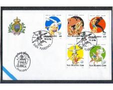 1996 - LOTTO/8162Z - SAN MARINO - CENTENARIO OLIMPIADI - FDC