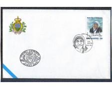 1996 - LOTTO/8163Z - SAN MARINO - EUROPA  MADRE TERESA - FDC