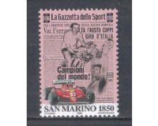 1996 - LOTTO/8170 - SAN MARINO - GAZZETTA DELLO SPORT