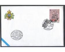 1996 - LOTTO/8170Z - SAN MARINO - GAZZETTA DELLO SPORT - FDC