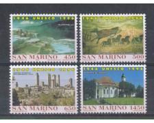 1996 - LOTTO/8171 - SAN MARINO - ANNIVERSARIO UNESCO - NUOVI
