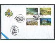 1996 - LOTTO/8171Z - SAN MARINO - ANNIVERSARIO UNESCO - FDC