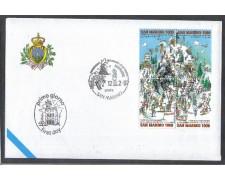 1997 - LOTTO/8174Z - SAN MARINO - SCI ALPINO - FDC