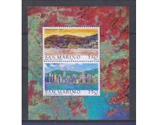 1997 - LOTTO/8175 - SAN MARINO - HONG KONG - FOGLIETTO  NUOVO