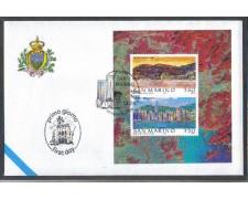 1997 - LOTTO/8175Z - SAN MARINO - HONG KONG  FOGLIETTO - BUSTA  FDC