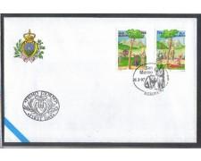 1997 - LOTTO/8177Z - SAN MARINO - EUROPA - FDC