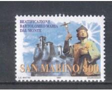 1997 - LOTTO/8182 - SAN MARINO - BARTOLOMEO DAL MONTE