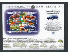1997 - LOTTO/8184 - SAN MARINO - INDUSTRIE DI AUTOMOBLI - BF.