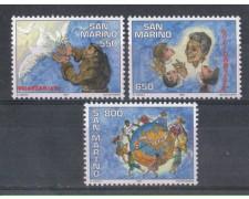 1997 - LOTTO/8186 - SAN MARINO - VOLONTARIATO 3v - NUOVI
