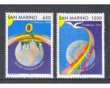 1998 - LOTTO/8188 - SAN MARINO - GIORNATA DEL MALATO