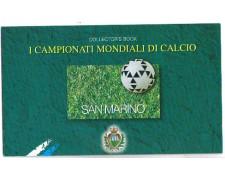 1998 - LOTTO/8191L - SAN MARINO - MONDIALI DI CALCIO LIBRETTO