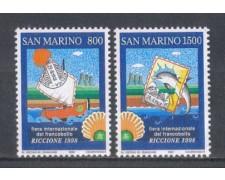 1998 - LOTTO/8195 - SAN MARINO - FIERA DEL FRANCOBOLLO
