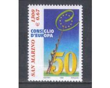 1999 - LOTTO/8205 - SAN MARINO - CONSIGLIO D'EUROPA