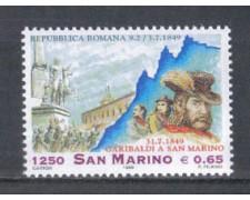 1999 - LOTTO/8206 - SAN MARINO - RITIRATA DI GARIBALDI