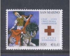 1999 - LOTTO/8210 - SAN MARINO - CROCE ROSSA