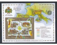 2000 - LOTTO/8215 - SAN MARINO - NASCITA DI GESU' - FOGLIETTO NUOVO