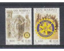 2000 - LOTTO/8220 - SAN MARINO - ROTARY CLUB - NUOVI