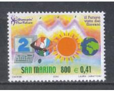2000 - LOTTO/8221 - SAN MARINO - IL FUTURO DEI GIOVANI