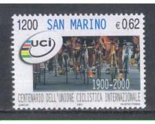 2000 - LOTTO/8223 - SAN MARINO - UNIONE CICLISTICA
