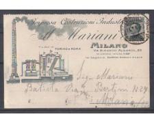 MILANO - 1930 - LBF/980G - COSTRUZIONI INDUSTRIALI MARIANI