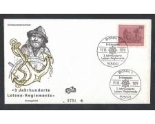 1979 - LBF/3643 - GERMANIA FEDERALE - PILOTAGGIO NAVI - FDC