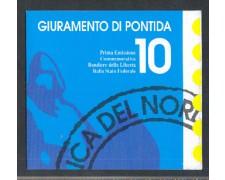 1992 - LOTTO/1708 - PADANIA - LIBRETTO BANDIERE