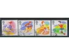 1988 - LOTTO/4607 - GRAN BRETAGNA - SPORT - USATI