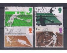 1977 - LOTTO/4646 - GRAN BRETAGNA  SPORT CON RACCHETTA - USATI