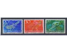 1967 - LOTTO/4588U - LIECHTENSTEIN - LEGGENDE I° - USATI