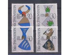 1966 - LOTTO/4589U - LIECHTENSTEIN - STEMMI NOBILIARI - USATI